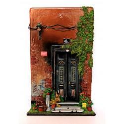 Miniature Historical Ottoman House Door - 2