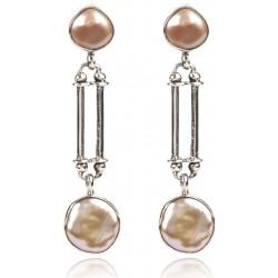 Baroque Pearl Earring