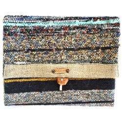 Rag Rug iPad Case Clutch - 5