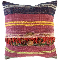 Rag Rug Pillow Case - 10