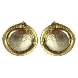 Silver Earrings - Circle