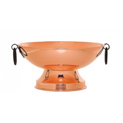 Arinna Copper Small Pedestal Bowl