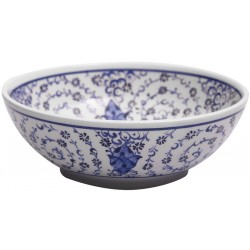 Golden Horn Ceramic Bowl - Big