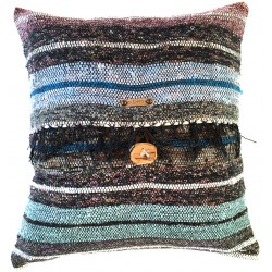 Rag Rug Pillow Case - 9