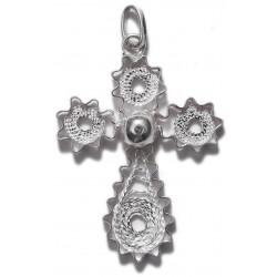 Filigree Cross Pendant - 4