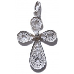 Filigree Cross Pendant- 3