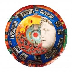 Turkish Hamam Bowl Magazine Collage - Mythology