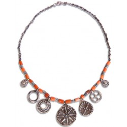 Urartian Coral Necklace