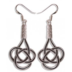 Kazaziye 'Love Knot' Silver Earrings - 1