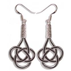 Kazaziye 'Love Knot' Silver Earrings - 1