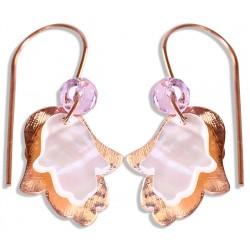 Fatima's Hand (Hamsa) Silver Earrings