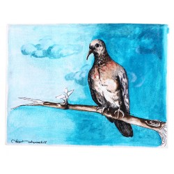 The Dove Oil on Canvas iPad Case/Wallet