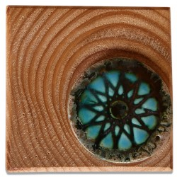 Evil Eye Ceramic Tablet - 1