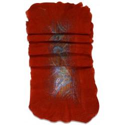 Felt Scarf- Red