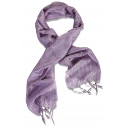 Silk Male Scarf - Lavender