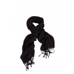Silk Male Scarf - Dark Purple