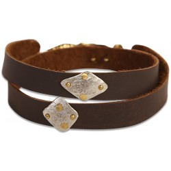 Leather Wristlet - 1