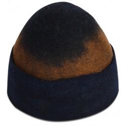 Dark Blue Felt Hat