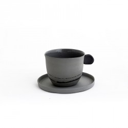 400.000 Years of Istanbul - Porcelain Coffeecup Set - Smoked Colour