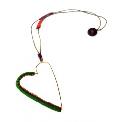 Love Necklace Green