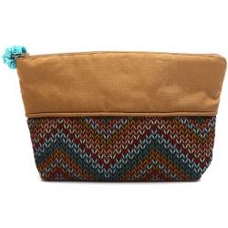 Milky Chocolate Cosmetic Bag