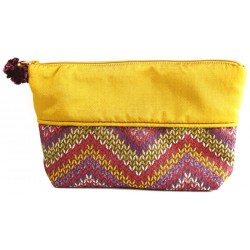 Yellow Cosmetic Bag