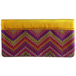 Bitter Yellow Kilim Clutch Bag