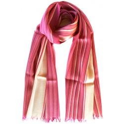 Kutnu Scarf Pink Striped