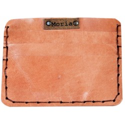 Leather Card Wallet - Light Pink
