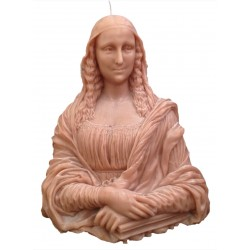 Mona Liza Sculpture Candle