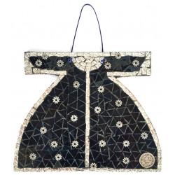 Mosaic Kaftan Black