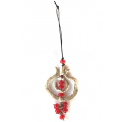 Pomegranate Red Charm