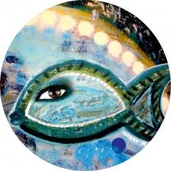 Free Fish Glass Tray - 4