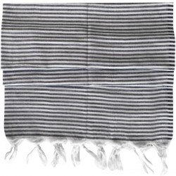 Pestemal / Turkish Hamam Towel - Smoky Striped