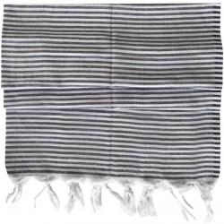 Pestemal / Turkish Hamam Towel - Smoky Striped