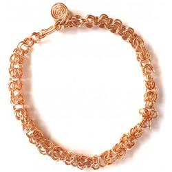 Byzantian Chain Copper Bracelet
