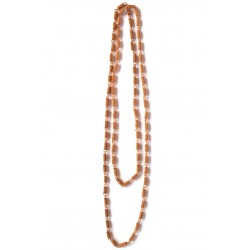 Armor Chain Long Copper Necklace
