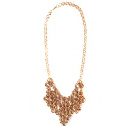 Armor Chain Triangle Copper Necklace