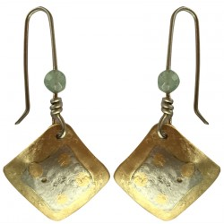 Silver Earrings - Square