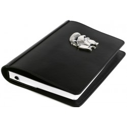 Silver Simurg Embossed Notebook