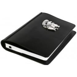 Silver Simurg Embossed Notebook