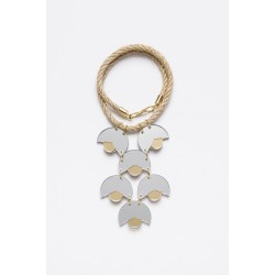 SMiLe By EzGi 6' Necklace - Mirror & Gold