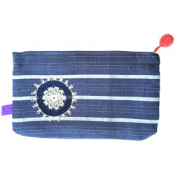 Kutnu Wallet - Blue Striped