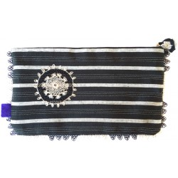 Kutnu Wallet - Black Striped