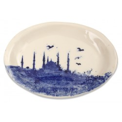 Hagia Sophia Print Porcelain Plate Oval