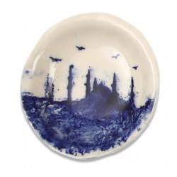 Hagia Sophia Print Porcelain Plate Round - 1