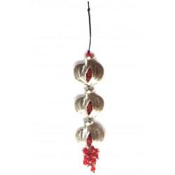 Trio Pomegranate Charm