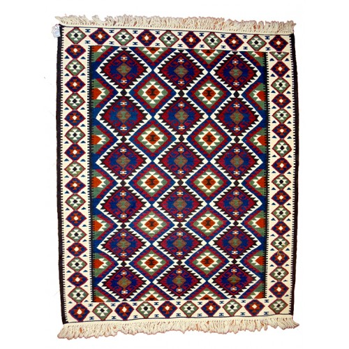Forty Flowers Kilim - Weaved by Nazlı Tomay