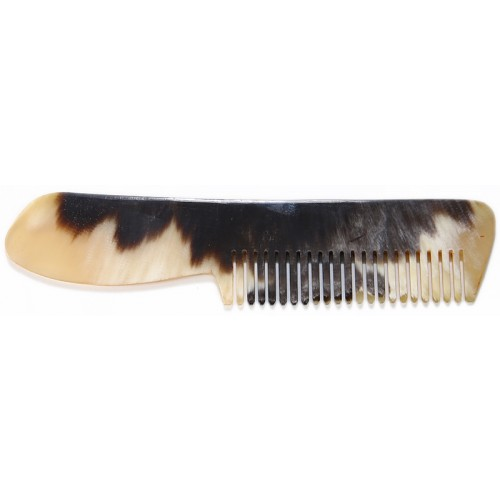 Horn Comb with Handle - 2
