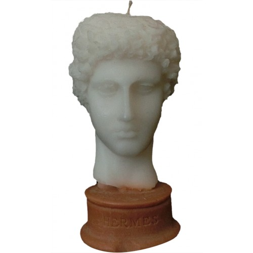 Hermes Sculpture Candle